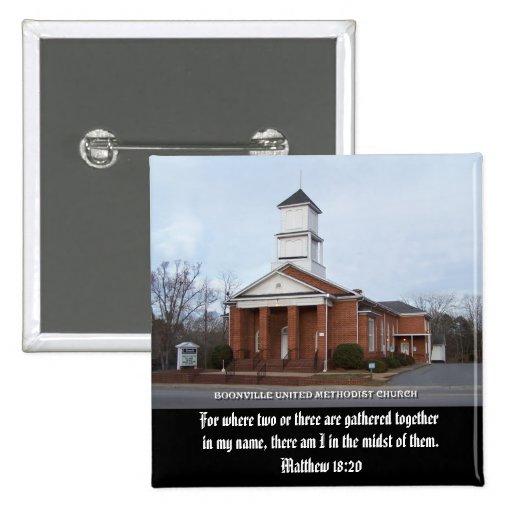 BOONVILLE UNITED METHODIST CHURCH-BUTTON