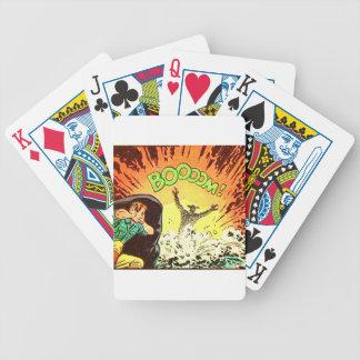 Boooom! Bicycle Playing Cards