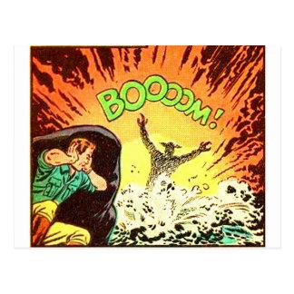 Boooom! Postcard