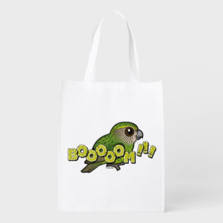 BOOOOM! REUSABLE GROCERY BAG