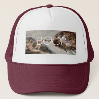 Boop of Adam Trucker Hat