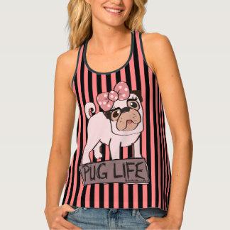BooPooBeeDoo Art Pug Life Tank Top