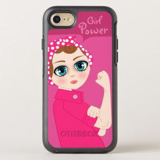 BooPooBeeDoo custom girl power OtterBox Symmetry iPhone 7 Case