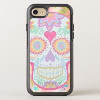 BooPooBeeDoo floral sugar skull OtterBox Symmetry iPhone 8/7 Case