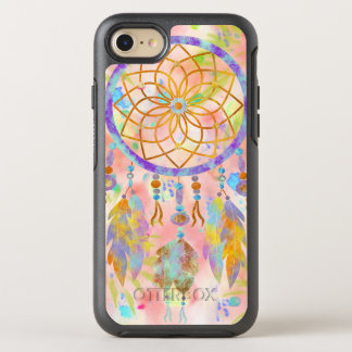 BooPooBeeDoo watercolor dreamcatcher OtterBox Symmetry iPhone 8/7 Case