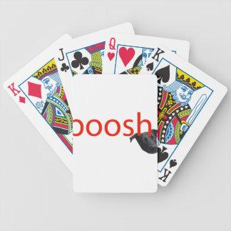 boosh brand logo apparel bicycle playing cards