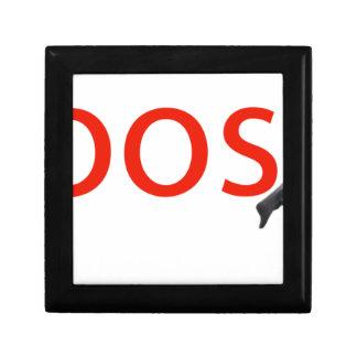boosh brand logo apparel gift box