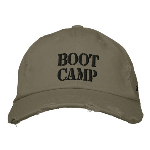Boot Camp Oil City, WA Hat Embroidered Baseball Cap