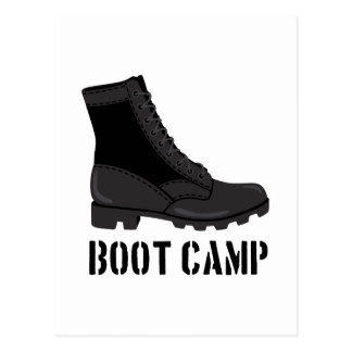 Boot Camp Postcard