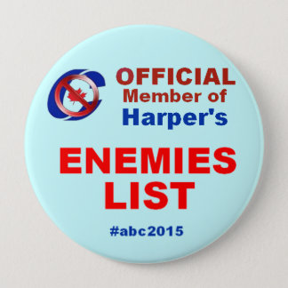 Boot 'em 2015 - Anything but Conservatives 10 Cm Round Badge