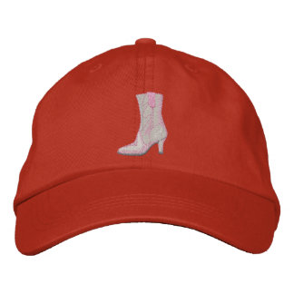 Boot Embroidered Hat