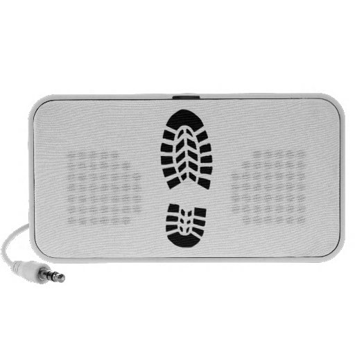 Boot Foot Print iPhone Speaker