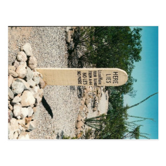 Boot Hill Postcard