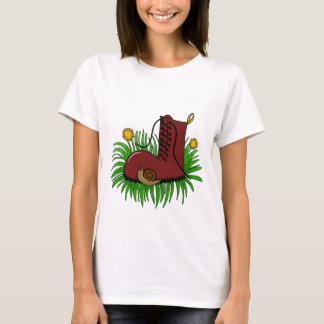Boot in the grass T-Shirt