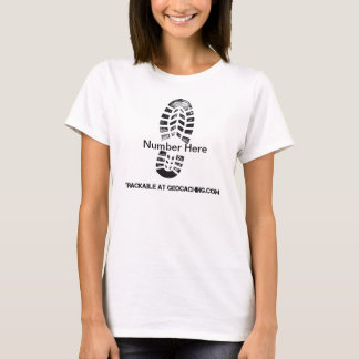 Boot Print Trackable T-Shirt