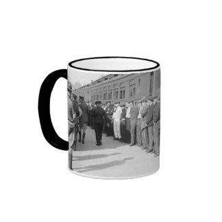 Booted from Hoboken, early 1900s Ringer Mug