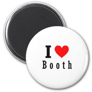 Booth, Alabama City Design 6 Cm Round Magnet