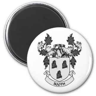 BOOTH Coat of Arms 6 Cm Round Magnet