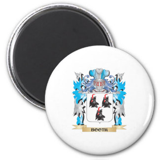 Booth Coat of Arms Refrigerator Magnets