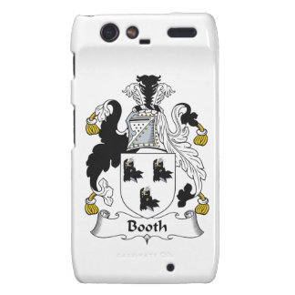 Booth Family Crest Droid RAZR Cases