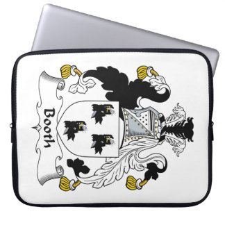 Booth Family Crest Computer Sleeve