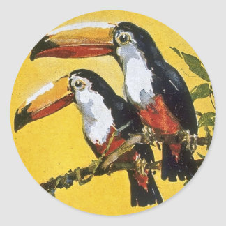 Booth Line Tours 1,000 Miles Up the Amazon Macaws Sticker