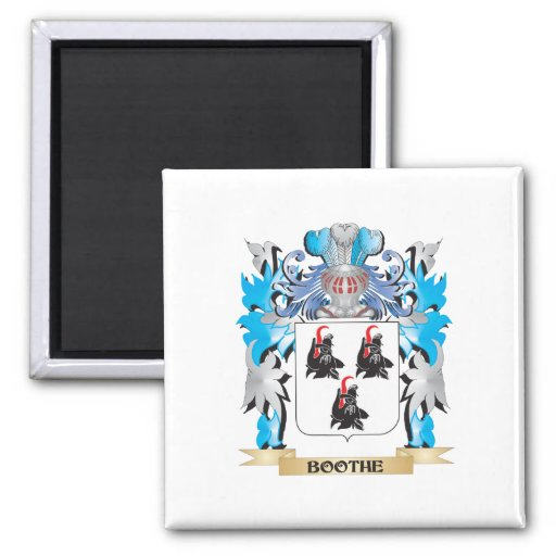 Boothe Coat of Arms Magnets
