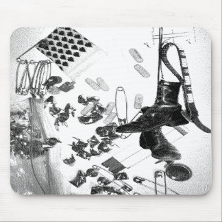 Boots and Studs (PUNK) Mouse Mats