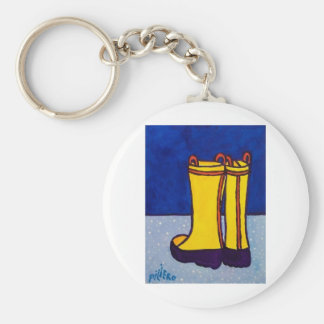 Boots by Piliero Key Ring