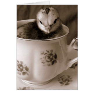 Boots In A Tea Cup Card