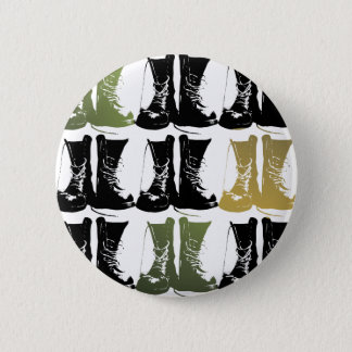 Boots on the Ground 6 Cm Round Badge