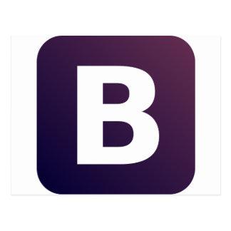 Bootstrap Logo Postcard