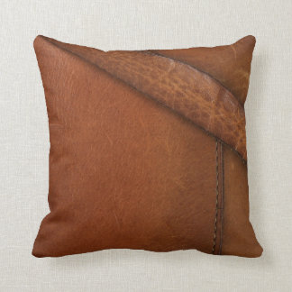 Bootstrap Work Faux Leather Cushion