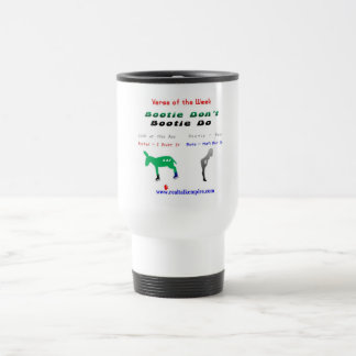 booty don't - big sip stainless steel travel mug
