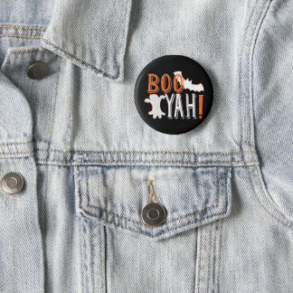 booyah cute halloween 6 cm round badge