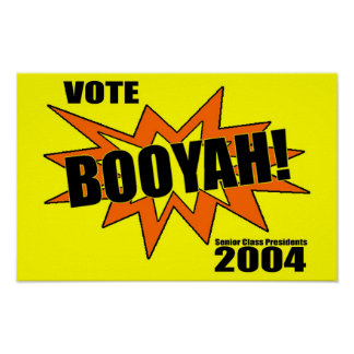 Booyah Poster