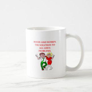 BOOZE COFFEE MUG