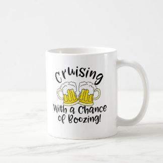 Booze Cruise Funny Mug