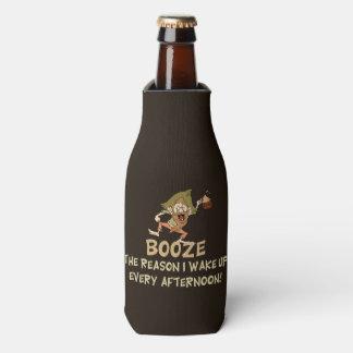 Booze The Reason I Wake Up Saying Bottle Cooler