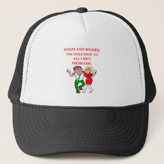 BOOZE TRUCKER HAT