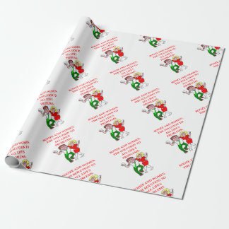 BOOZE WRAPPING PAPER