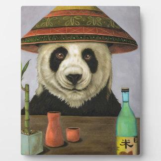Boozer 4 with Panda Plaque
