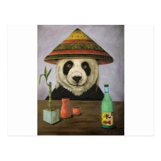 Boozer 4 with Panda Postcard