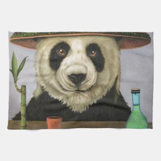 Boozer 4 with Panda Tea Towel