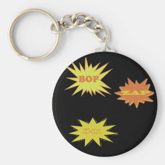 BOP ZAP ZOWIE  RETRO KEY RING