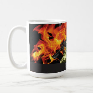 BOPE SKULL IN THE HELL COFFEE MUG