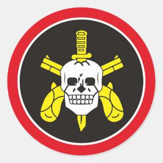BOPE Tropa De Elite Brazilian Special Police Force Round Sticker