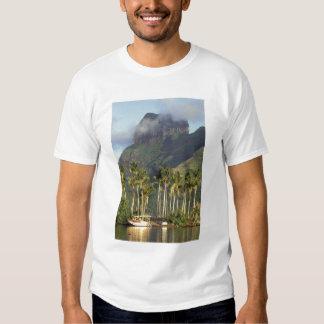 Bora Bora, French Polynesia Waterfront scene and Shirt