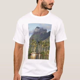 Bora Bora, French Polynesia Waterfront scene and T-Shirt