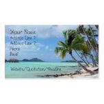 Bora Bora Lagoon Business Card